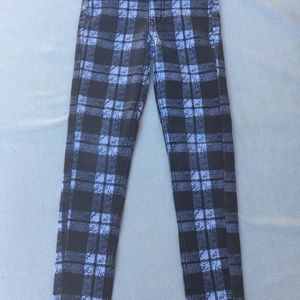 Justice Bottoms - Justice Plaid Red and Black Girls Pants